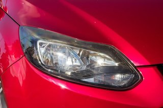 2013 Ford Focus LW MkII Sport PwrShift Red 6 Speed Sports Automatic Dual Clutch Hatchback