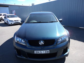 2009 Holden Commodore VE MY10 SV6 Aqua Blue Metallic 6 Speed Manual Utility.