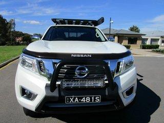 2017 Nissan Navara D23 Series II ST-X (4x4) White 7 Speed Automatic Dual Cab Utility.