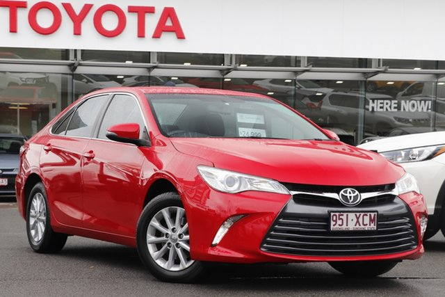 Pre-Owned Toyota Camry ASV50R Altise Upper Mount Gravatt, 2017 Toyota Camry ASV50R Altise Cherry 6 Speed Sports Automatic Sedan