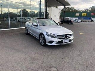 2019 Mercedes-Benz C-Class W205 809MY C300 9G-Tronic Silver 9 Speed Sports Automatic Sedan.