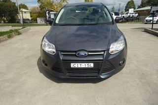 2012 Ford Focus LW MkII Trend PwrShift Grey 6 Speed Sports Automatic Dual Clutch Hatchback.