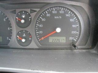 2002 Ford Falcon BA XLS Blue 4 Speed Auto Seq Sportshift Utility