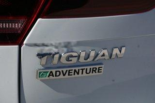 2017 Volkswagen Tiguan 5N MY18 132TSI DSG 4MOTION Adventure Pure White 7 Speed