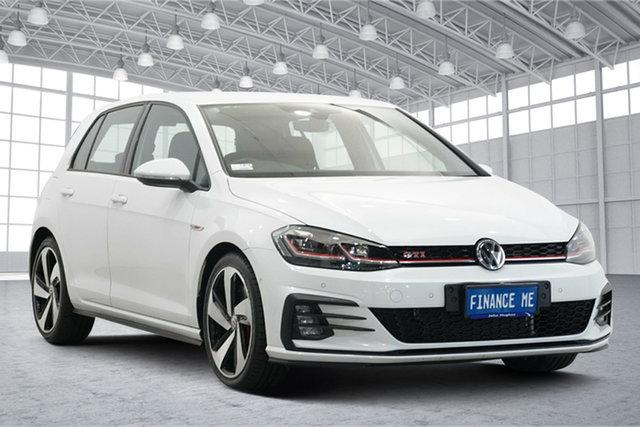 Used Volkswagen Golf 7.5 MY19.5 GTI DSG Victoria Park, 2019 Volkswagen Golf 7.5 MY19.5 GTI DSG White 7 Speed Sports Automatic Dual Clutch Hatchback