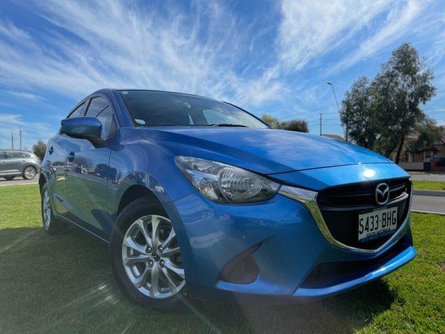 Used Mazda 2 DJ2HAA Maxx SKYACTIV-Drive Hindmarsh, 2015 Mazda 2 DJ2HAA Maxx SKYACTIV-Drive Blue 6 Speed Sports Automatic Hatchback