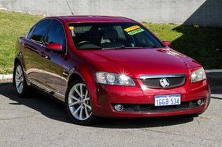 2010 Holden Calais VE II V Red 6 Speed Sports Automatic Sedan.