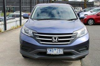2012 Honda CR-V RM VTi Blue 5 Speed Automatic Wagon.