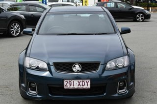 2012 Holden Commodore VE II MY12 SV6 Blue 6 Speed Manual Utility.