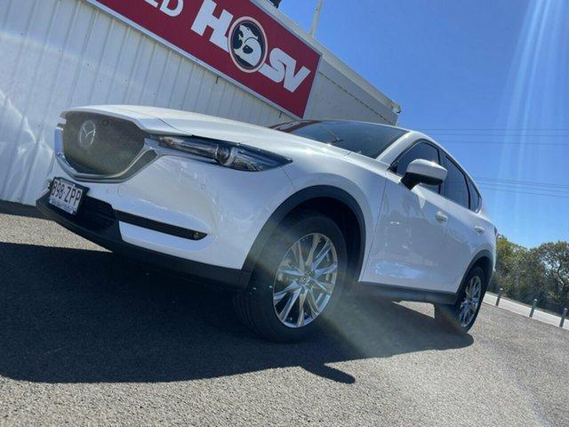 Used Mazda CX-5 KF4WLA Akera SKYACTIV-Drive i-ACTIV AWD Bundaberg, 2020 Mazda CX-5 KF4WLA Akera SKYACTIV-Drive i-ACTIV AWD White 6 Speed Sports Automatic Wagon