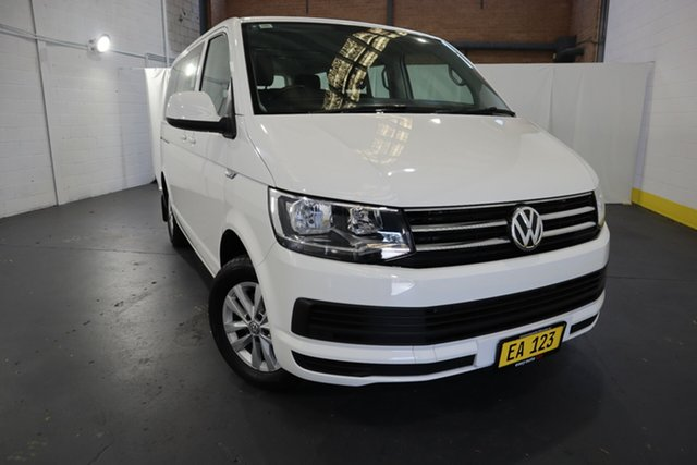 Used Volkswagen Multivan T6 MY18 TDI340 SWB DSG Comfortline Castle Hill, 2017 Volkswagen Multivan T6 MY18 TDI340 SWB DSG Comfortline White 7 Speed