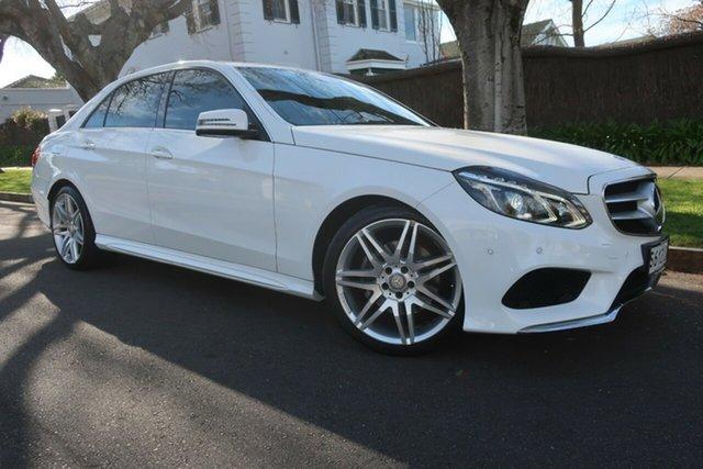 Used Mercedes-Benz E-Class W212 MY13 E250 7G-Tronic + Prospect, 2013 Mercedes-Benz E-Class W212 MY13 E250 7G-Tronic + White 7 Speed Sports Automatic Sedan