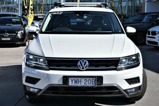 2017 Volkswagen Tiguan 5N MY18 132TSI DSG 4MOTION Adventure Pure White 7 Speed.
