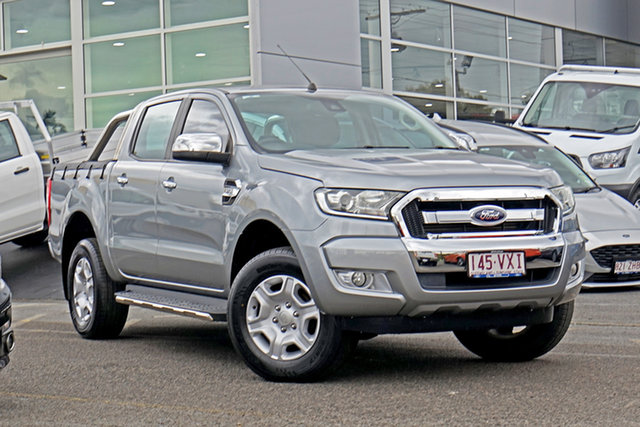 Used Ford Ranger PX MkII XLT Double Cab Springwood, 2015 Ford Ranger PX MkII XLT Double Cab Silver 6 Speed Sports Automatic Utility