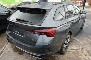 2021 Skoda Octavia NX MY21 RS DSG Quartz Grey 7 Speed Sports Automatic Dual Clutch Wagon.