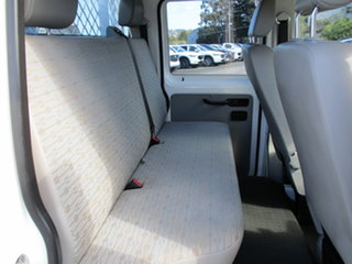 2011 Volkswagen Transporter T5 MY11 LWB DSG White 7 Speed Sports Automatic Dual Clutch Cab Chassis