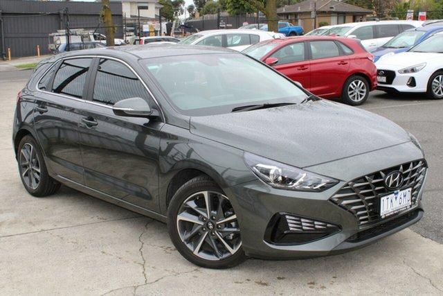 Used Hyundai i30 PD.V4 MY21 Active Ferntree Gully, 2021 Hyundai i30 PD.V4 MY21 Active Grey 6 Speed Sports Automatic Hatchback