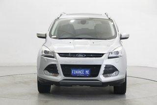 2015 Ford Kuga TF MY15 Titanium AWD Silver 6 Speed Sports Automatic Wagon.