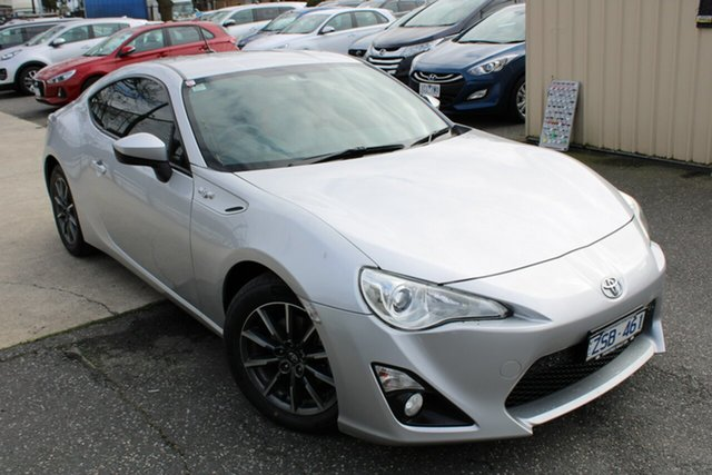 Used Toyota 86 ZN6 GT Ferntree Gully, 2013 Toyota 86 ZN6 GT Silver 6 Speed Manual Coupe