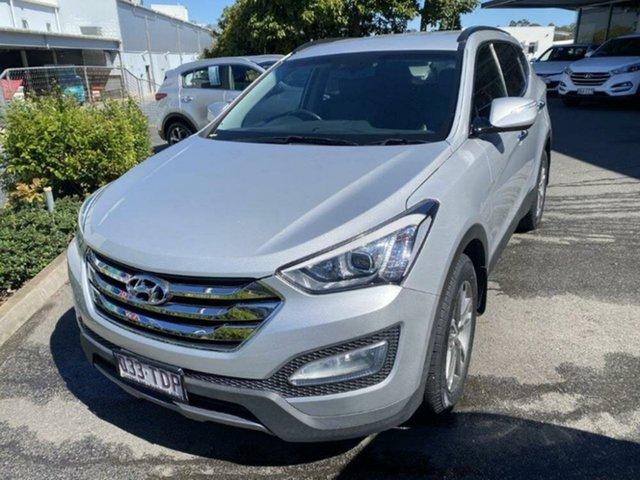 Used Hyundai Santa Fe DM MY13 Elite Springwood, 2013 Hyundai Santa Fe DM MY13 Elite Shimmering Silver 6 Speed Sports Automatic Wagon