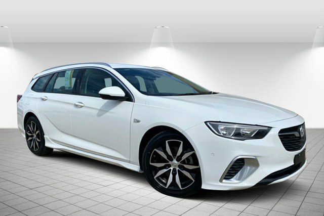 Used Holden Commodore ZB MY19 RS Sportwagon Hervey Bay, 2019 Holden Commodore ZB MY19 RS Sportwagon White 9 Speed Sports Automatic Wagon