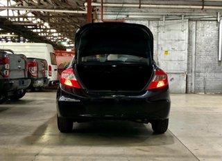 2012 Honda Civic 9th Gen Ser II VTi Black 5 Speed Sports Automatic Sedan