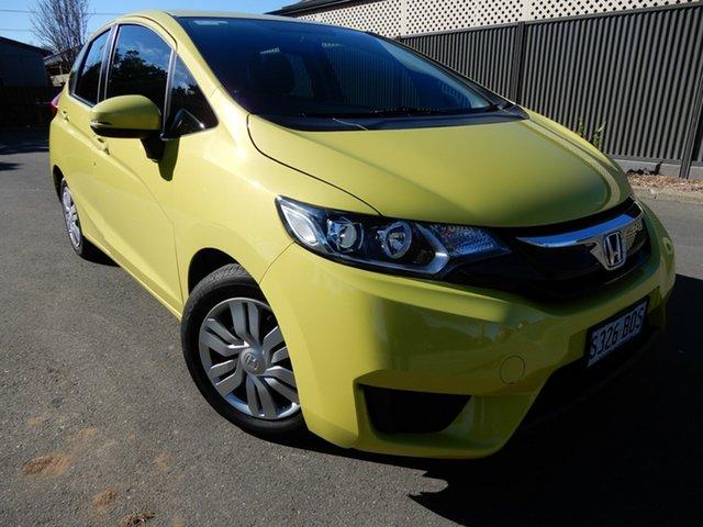 Used Honda Jazz GF MY17 VTi Glenelg, 2016 Honda Jazz GF MY17 VTi Yellow 5 Speed Manual Hatchback