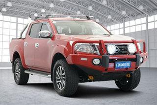 2015 Nissan Navara D23 ST 4x2 Red 7 Speed Sports Automatic Utility.