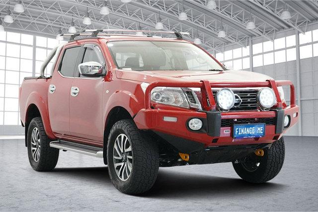 Used Nissan Navara D23 ST 4x2 Victoria Park, 2015 Nissan Navara D23 ST 4x2 Red 7 Speed Sports Automatic Utility