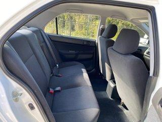 2006 Mitsubishi Lancer CH MY07 ES White 4 Speed Sports Automatic Sedan