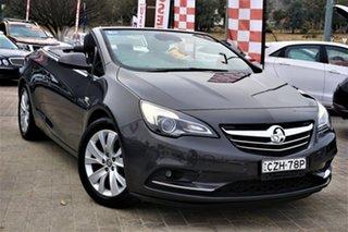 2015 Holden Cascada CJ MY15.5 Grey 6 Speed Sports Automatic Convertible.