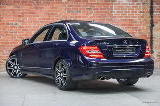 2013 Mercedes-Benz C-Class W204 MY13 C300 7G-Tronic + Avantgarde Cavansite Blue 7 Speed.