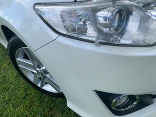 2012 Toyota Camry ASV50R Atara SL Pearl White 6 Speed Sports Automatic Sedan.