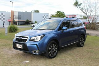 2017 Subaru Forester S4 MY18 XT CVT AWD Premium Blue 8 Speed Constant Variable Wagon.