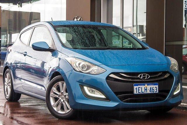 Used Hyundai i30 GD2 MY14 SE Osborne Park, 2014 Hyundai i30 GD2 MY14 SE Blue 6 Speed Sports Automatic Hatchback