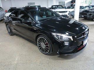 2018 Mercedes-Benz CLA-Class C117 809MY CLA250 DCT 4MATIC Sport Black 7 Speed.