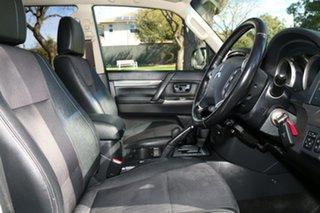 2015 Mitsubishi Pajero NX MY15 GLS White 5 Speed Sports Automatic Wagon