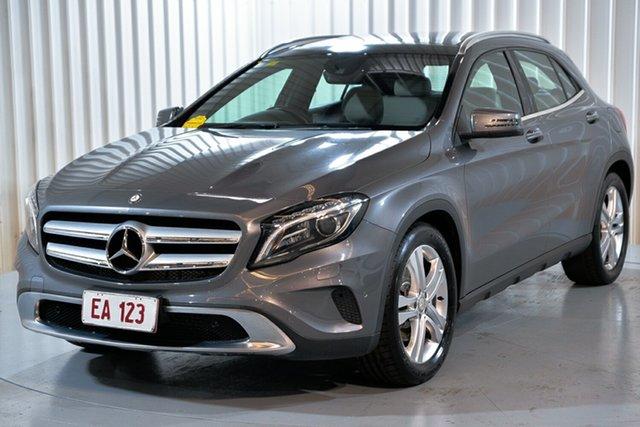 Used Mercedes-Benz GLA-Class X156 805+055MY GLA250 DCT 4MATIC Hendra, 2015 Mercedes-Benz GLA-Class X156 805+055MY GLA250 DCT 4MATIC Grey 7 Speed