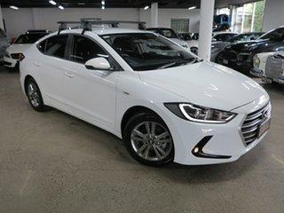 2017 Hyundai Elantra AD MY17 Active White 6 Speed Manual Sedan.