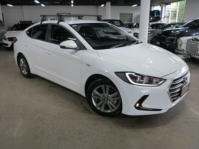 Used Hyundai Elantra AD MY17 Active Albion, 2017 Hyundai Elantra AD MY17 Active White 6 Speed Manual Sedan