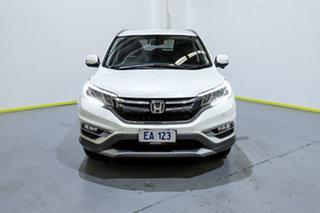2015 Honda CR-V RM Series II MY16 VTi-S 4WD White 5 Speed Sports Automatic Wagon.