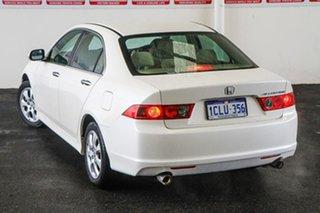 2006 Honda Accord MY06 Upgrade Euro White 5 Speed Sequential Auto Sedan.