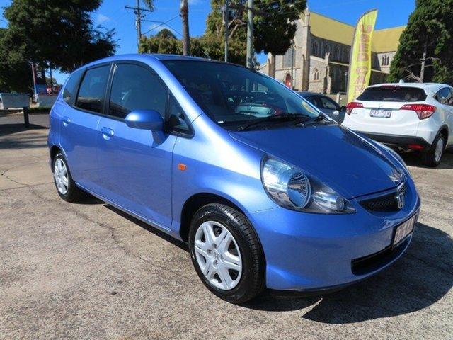 Used Honda Jazz Upgrade GLi Toowoomba, 2006 Honda Jazz Upgrade GLi Purplish Blue Continuous Variable Hatchback