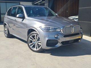 2014 BMW X5 F15 xDrive50i Grey 8 Speed Sports Automatic Wagon.