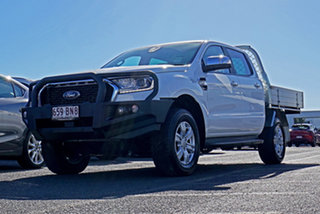 2021 Ford Ranger PX MkIII 2021.25MY XLT Double Cab White 6 Speed Sports Automatic Double Cab Chassis