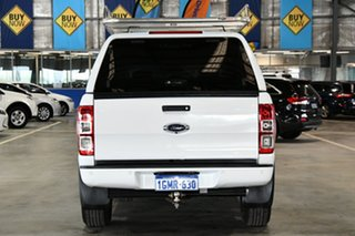 2018 Ford Ranger PX MkII MY18 XL 2.2 Hi-Rider (4x2) Cool White 6 Speed Automatic Crew Cab Pickup