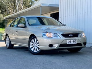 2006 Ford Fairmont BF Mk II Gold 4 Speed Sports Automatic Sedan.