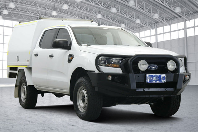 Used Ford Ranger PX MkII XL Victoria Park, 2017 Ford Ranger PX MkII XL White 6 Speed Sports Automatic Cab Chassis