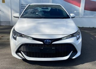 2020 Toyota Corolla ZWE211R Ascent Sport E-CVT Hybrid Glacier White 10 Speed Constant Variable.