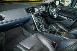 2013 Volvo S60 F Series MY13 T4 PwrShift Black 6 Speed Sports Automatic Dual Clutch Sedan